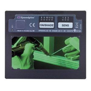 Keevitusfilter, isetumenev, 100V 110x90mm, Speedglas 3M