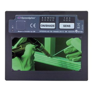 Pašaptumšojošais filtrs 3M Speedglas 100V ADF 3 / 8-12, Speedglas 3M