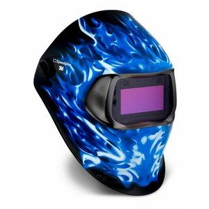 Welding Helmet Speedglass 100, Ice Hot with 100v filter, Speedglas 3M