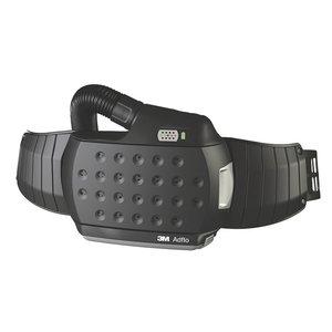 Adflo & QRS quick-release air hose, adapter, belt, battery, Speedglas 3M