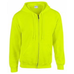 High-Visibility hooded sweatshirt 18600 yellow