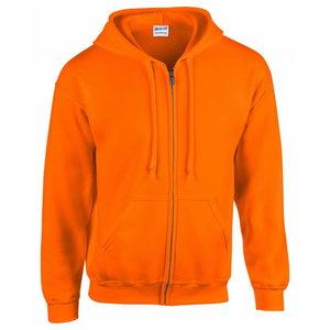Kõrgnähtav dressipluus kapuutsiga 18600 oranz