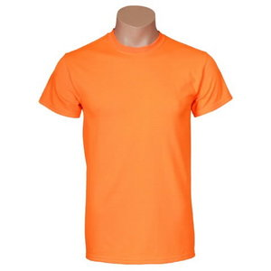 T-Krekls ar atstarotājiem GILDAN, oranžs