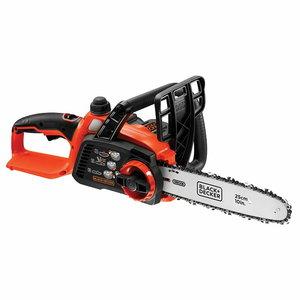Cordless chainsaw GKC1825L20 / 18 V / 2 Ah / 25 cm, Black+Decker
