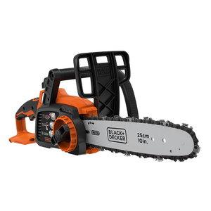 Cordless chainsaw GKC1825LB / 18 V / 25 cm, w.o. batt/charg, Black+Decker