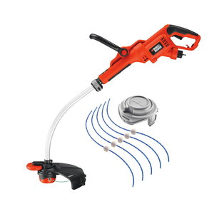 Electric grass trimmer GL7033 / 700 W / 33 cm, Black+Decker