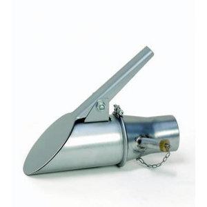 Metāla uzgalis ar vārstu d=125 mm
