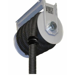 Spring driven hose reel 12,5m up to 200°C