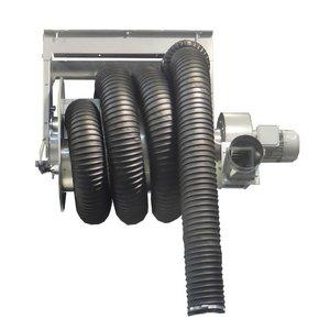 Heitgaasiärastus komplekt, rull, voolik, ventilaator d.100mm, Worky