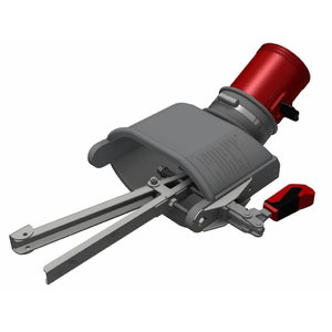 Nozzle with internal gripper, left d=100mm