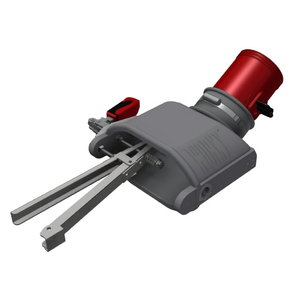 Nozzle with internal gripper, right side d=100mm