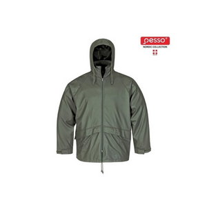 Lietus jaka  801, zaļa, Pesso