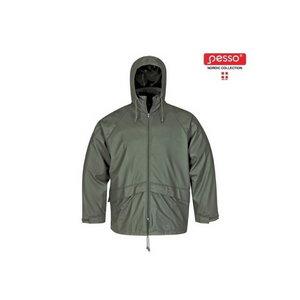 Rain Jacket  801, green 2XL, Pesso