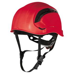 Aizsargķivere ar ventilāciju ABS, sarkana GRANITE WIND, DELTAPLUS