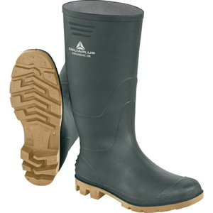 Rubber boots Groundhc OB SRA, green/beige, Delta Plus