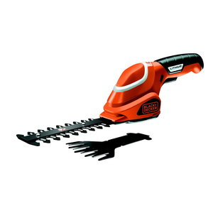 7,2 V Shear Shrubber Combo Kit  GSL700, Black+Decker