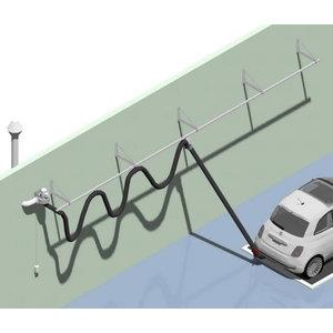 Exhaust rail kit 20m d=100mm; nozzle ; fan 1 hp