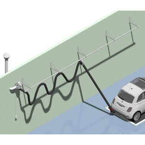 Heitgaasiärastussiini komplekt 20m d=150mm. otsik, vent, Worky