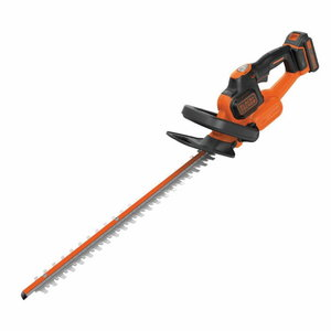 Cordless hedge trimmer GTC18452PC / 18 V / 2 Ah / 45 cm / PC, Black+Decker