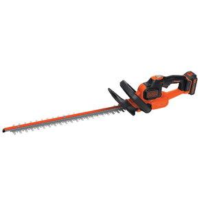 Cordless hedge trimmer GTC18502PC / 18 V / 2 Ah / 50 cm / PC, Black+Decker