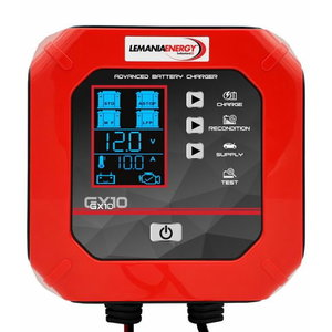 Smart battery charger GX10 12V/10A