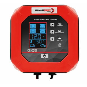 Smart battery charger GX15 12V/2A, Lemania