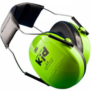 Headphones Peltor Kid green SNR 27dB, , 3M