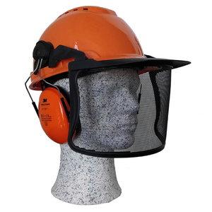 Kaitsekiiver metsamehele H700, kõrvaklapid, visiir H700NOR51