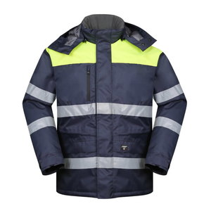 Winterjacket HANA navy / yellow 2XL, Pesso