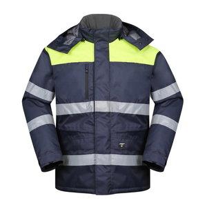 Winterjacket HANA navy / yellow L, , Pesso