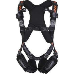 HARNESS ANATOM HAR32 Black/ Orange, Delta Plus