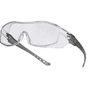 Kaitseprillid optiliste prillide peale, Hekla, värvitu klaas, Delta Plus