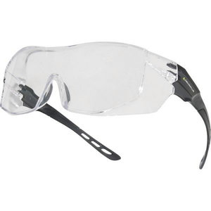 Kaitseprillid optiliste prillide peale, Hekla, värvitu klaas AS-UV400, Delta Plus