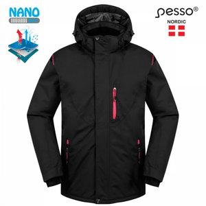 Žieminė striukė Helsinki, juoda, Pesso