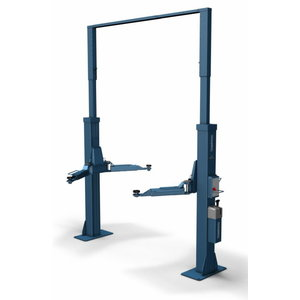 2-post tõstuk POWER LIFT HL 2.50 NT Standard, E-Set RAL5001, Nussbaum