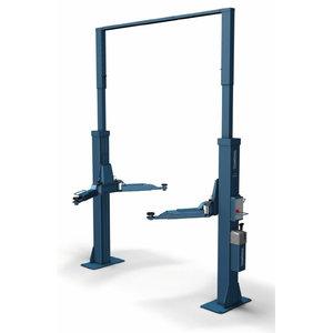2-post tõstuk POWER LIFT HL 2.50 NT Uni, E-Set, Nussbaum