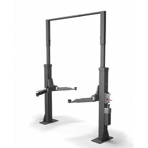 2-post lift POWER LIFT HF 3S 5000 Uni, E-Set, RAL7016, Nussbaum