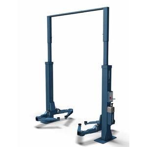 2-post lift POWER LIFT HF 3S 5000 DG, E-Set, RAL5001, Nussbaum