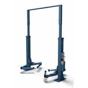 2-post lift POWER LIFT HF 3S 5000 DG, RAL5001, Nussbaum