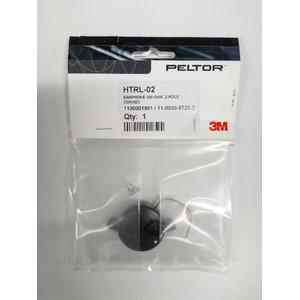 Kõrvaklapid Peltor HTRL-02 , 100 oomi, 2-poolne pistik 110 11003057202, 3M