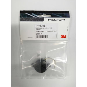 EARPHONE 100 Ohm, 2-POLE CONNEC 11003057202, 3M