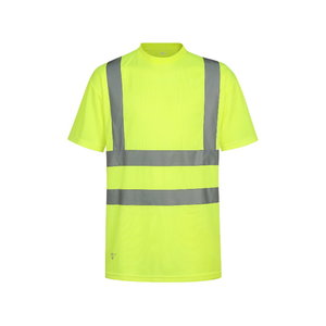 Augstas redzamības T-krekls HVMG, dzeltens L, Pesso