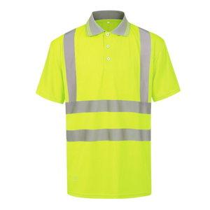 Augstas redzmības polo shirt HVP, dzeltens, 3XL, Pesso