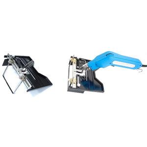 Hot foam cutter blade adapter, big
