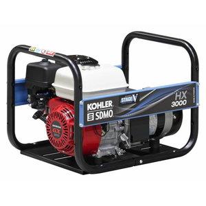 Strāvas ģenerators HXC 3000 C5 1-fāzes, SDMO