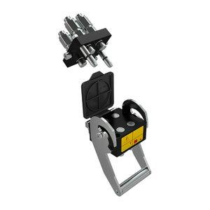4P hüdraulika kiirliitmik (Hydro-Fix)  laaduritele, Stoll