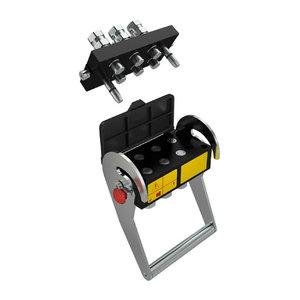 6P hüdraulika kiirliitmik (Hydro-Fix)  laaduritele, Stoll