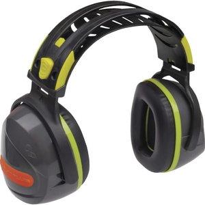 Kõrvaklapid Interlagos, SNR 33dB, hall/neoonkollane, Delta Plus