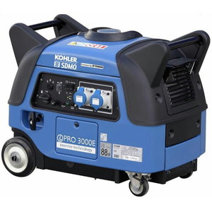Invertora tipa ģenerators INVERTER PRO 3000  1-fāzes