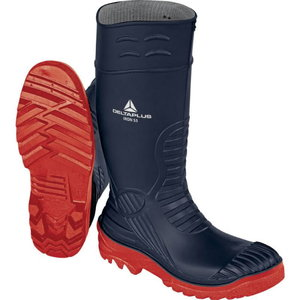 Rubber safety boots Iron S5 SRC, navy blue/red, Delta Plus